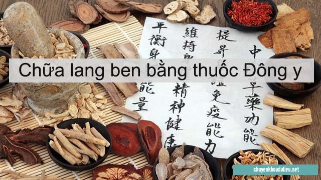 Thảo mộc đặc trị lang ben hắc lào là thuốc Đông y chữa bệnh lang ben tốt nhất hiện nay