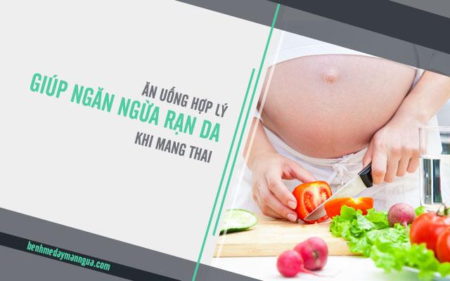 ngăn ngừa rạn da khi mang thai