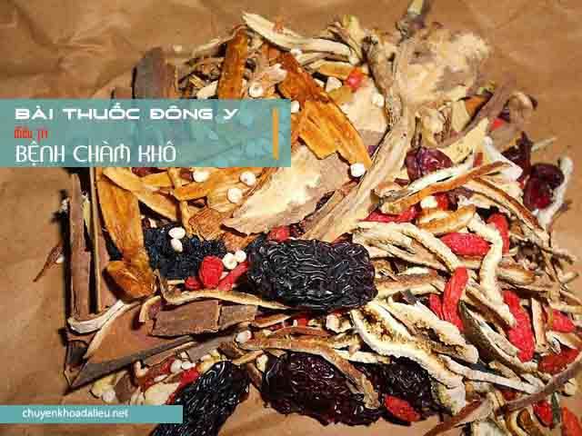 Bài thuốc Đông y chữa bệnh chàm khô