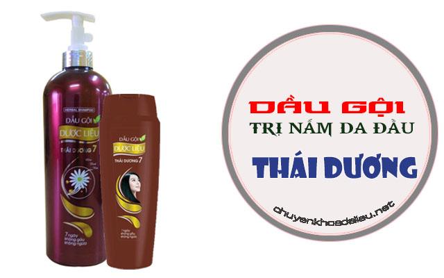 Dầu gội trị nấm da đầu Thái Dương