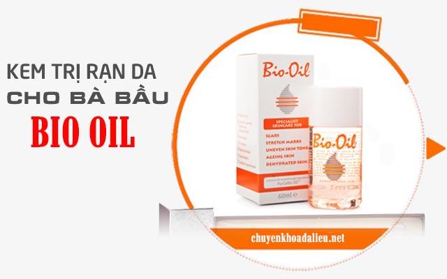 Kem trị rạn da cho bà bầu Bio Oil