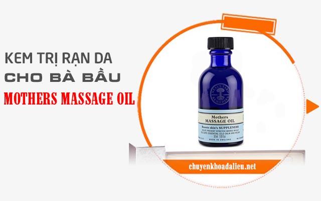 Dầu chống rạn da khi mang thai Mothers Massage Oil