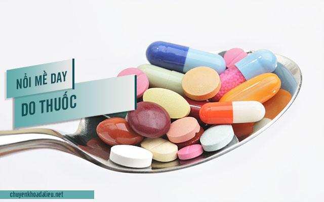 Nguyên nhân nổi mề đay do dị ứng thuốc