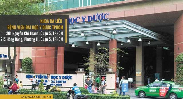 chữa bệnh vẩy nến ở đâu tại TPHCM