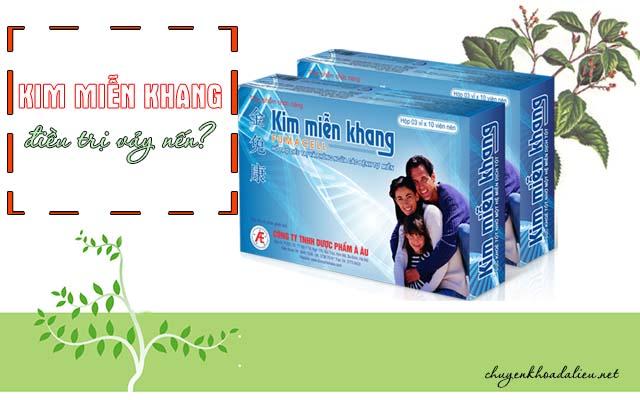 Kim Miễn Khang chữa bệnh vảy nến