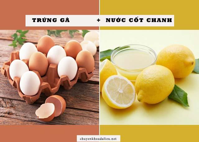 mặt nạ trứng gà trị nám da tốt nhất