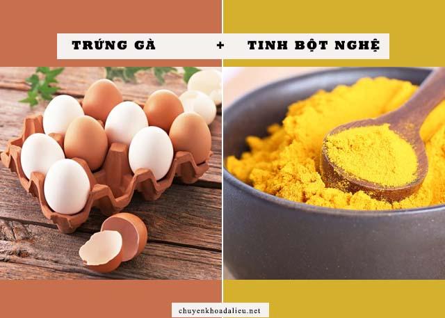 mặt nạ trứng gà trị nám da hiệu quả