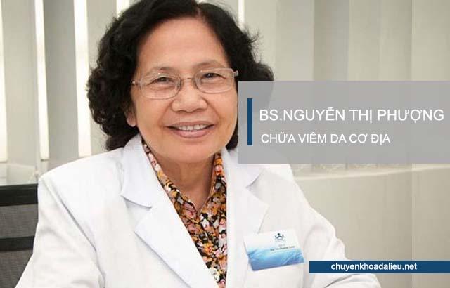 Bác sỹ Nguyễn Thị Phượng chữa viêm da cơ địa