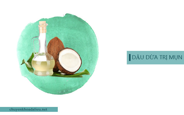 Vì sao dầu dừa có thể trị mụn?