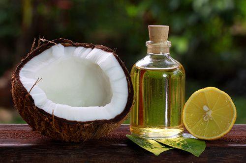 Cách trị viêm lỗ chân lông bằng dầu dừa