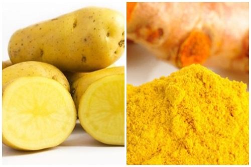 Cách trị nám da mặt bằng khoai tây đơn giản hiệu quả