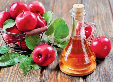 trị rụng tóc bằng dấm táo