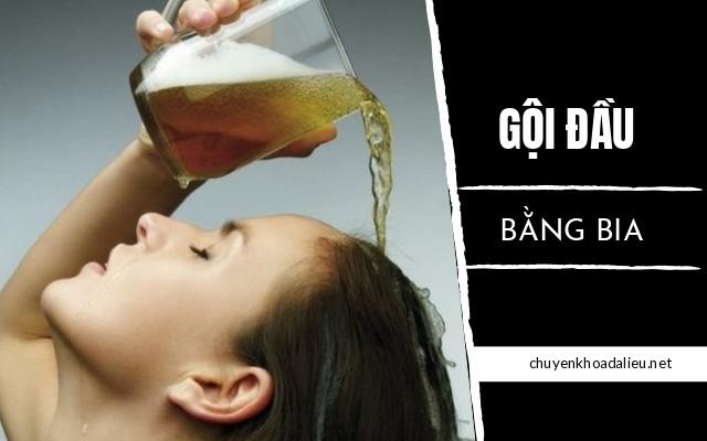 trị rụng tóc bằng bia1