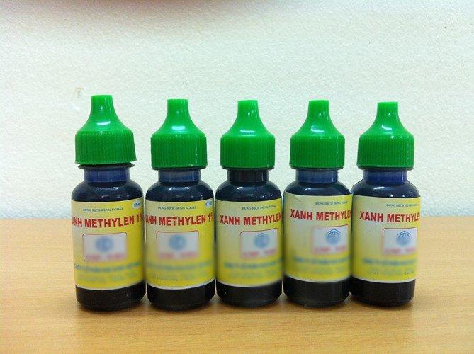 thuốc xanh methylen chữa bệnh giời leo ở miệng