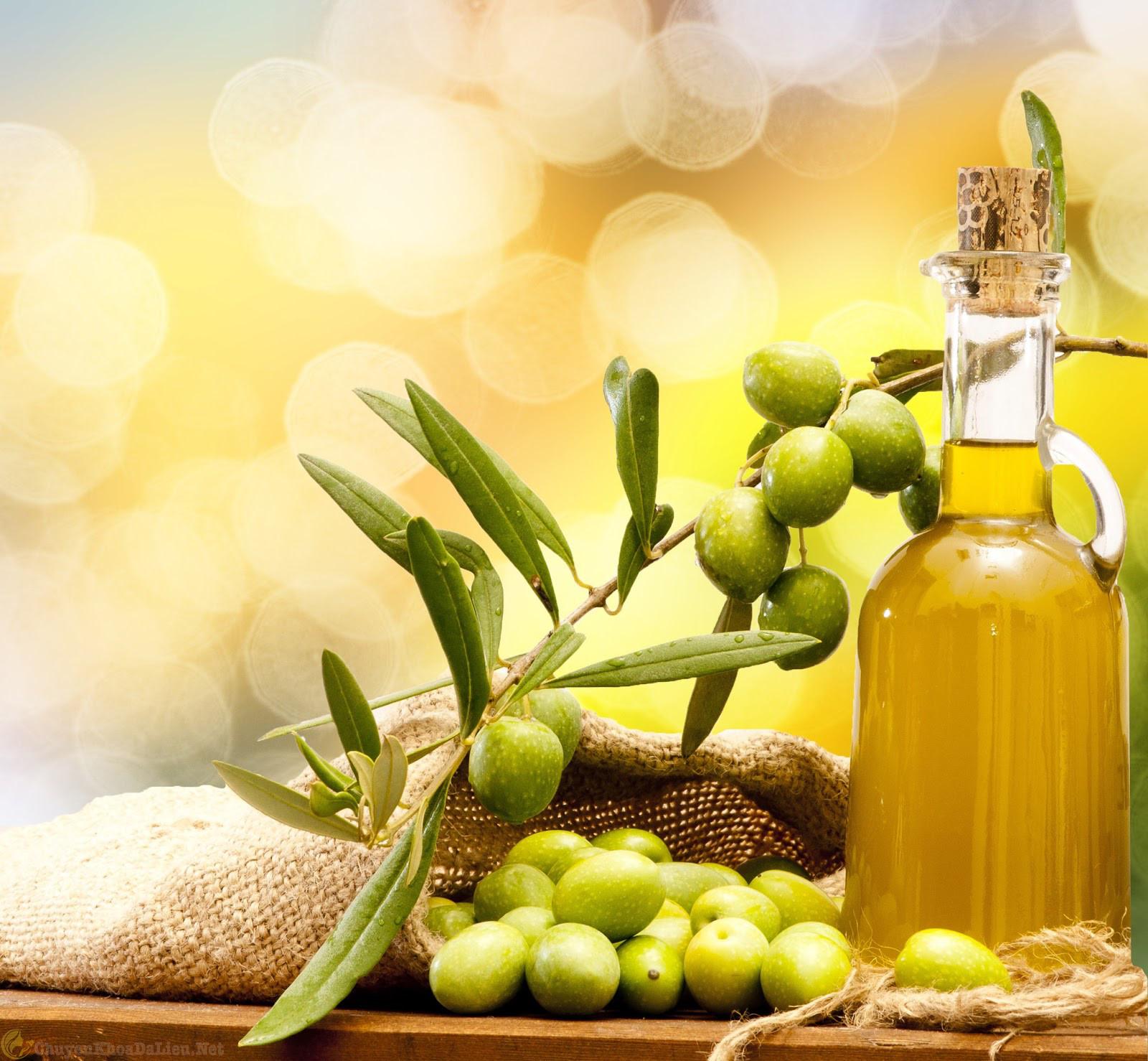 dầu oliu giữ ẩm cho người bị vảy nến