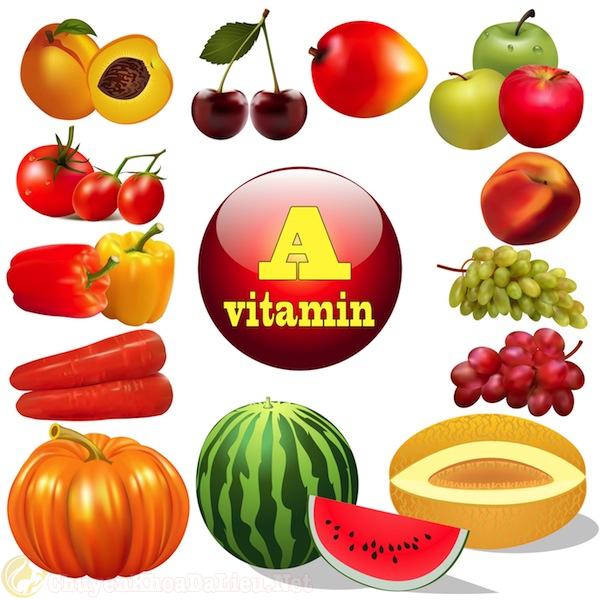 cung cấp vitamin A điều trị bệnh eczema