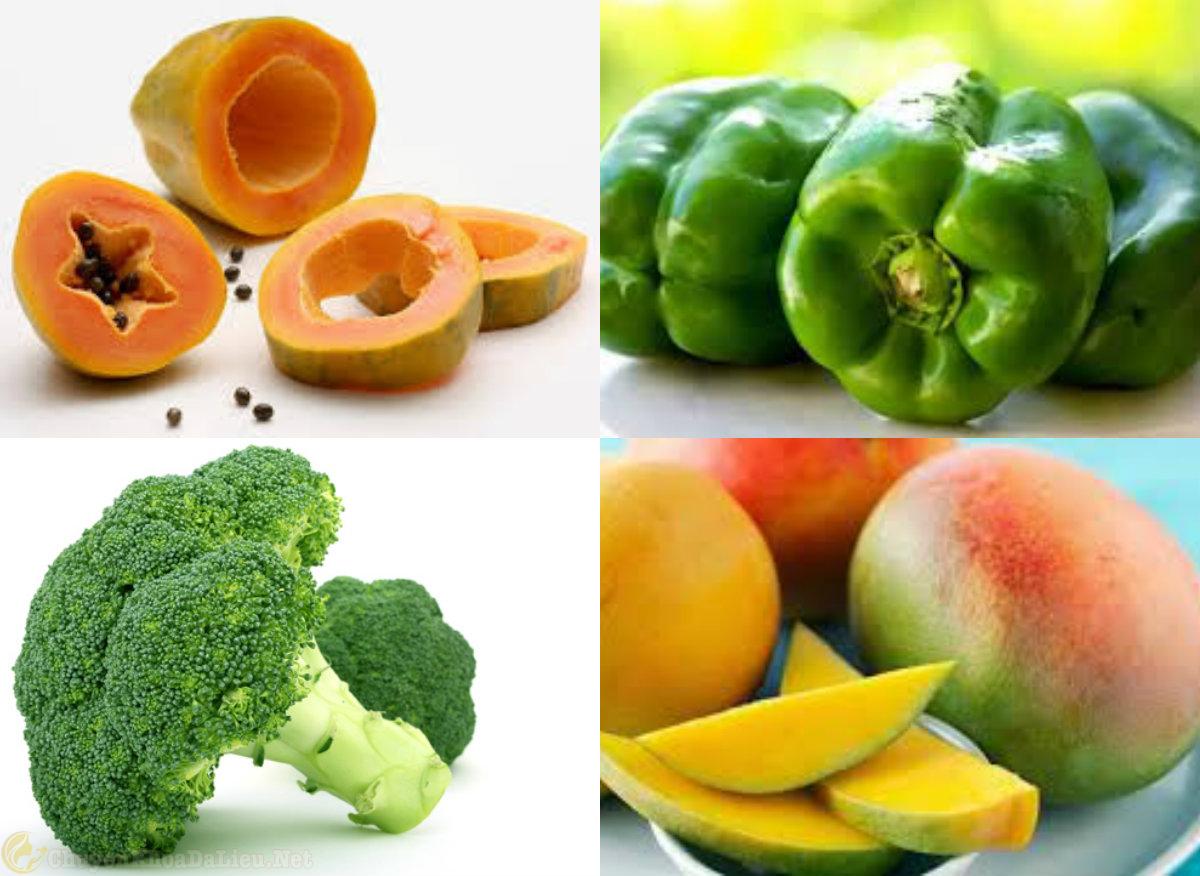 cung cấp vitamin C điều trị bệnh eczema