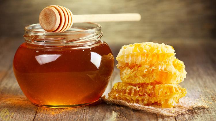 mật ong trị viêm da dầu
