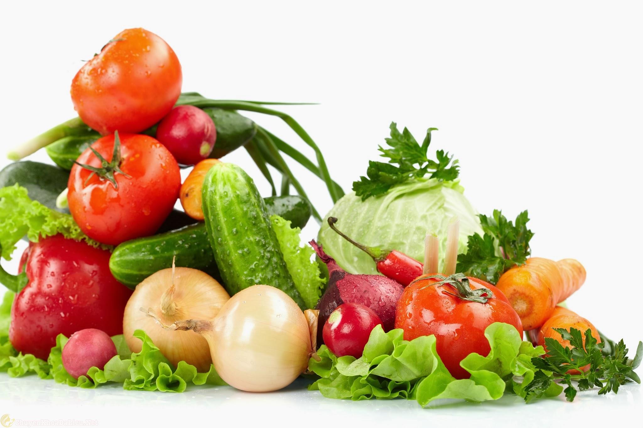 Nên ăn rau củ quả khi bị viêm da cơ địa