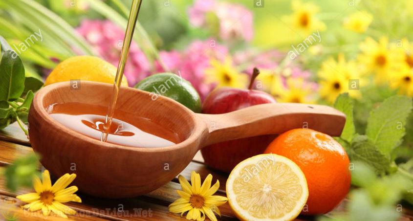 mật ong chữa sẹo do eczema