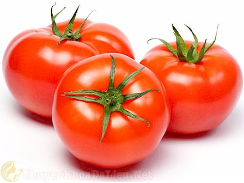 cà chua chống khô da tốt