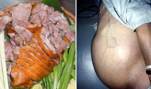 Bị suy gan, thận khi ăn thịt chó