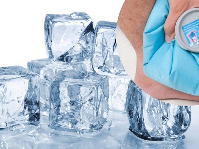 Chườm lạnh là cách chữa mẩn ngứa khắp người hiệu quả