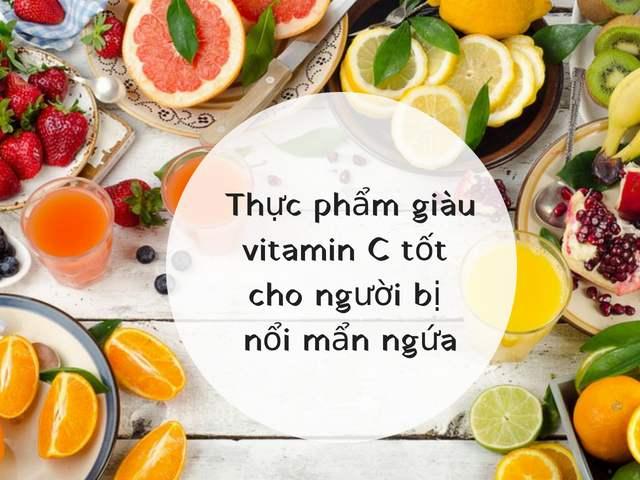 Cách chữa mẩn ngứa khắp người bằng thực phẩm