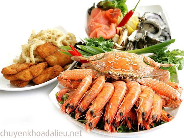 Dị ứng hải sản là nguyên nhân gây bệnh chàm cơ địa