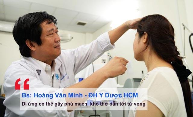 Bác sĩ Hoàng Văn Minh tư vấn về cách chữa dị ứng da