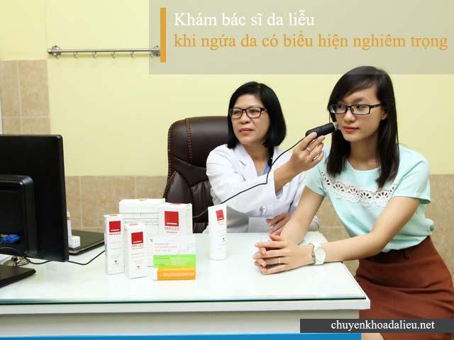 Bị ngứa da nên đi bác sĩ khám sớm