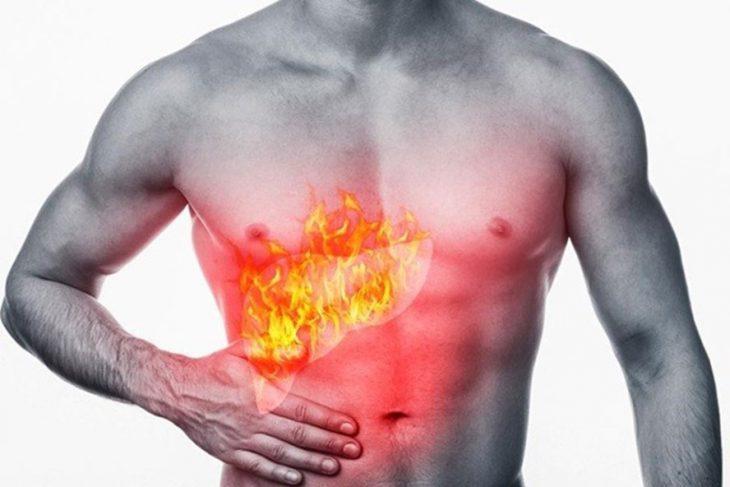 Chức năng gan suy giảm dễ gây ngứa da mề đay