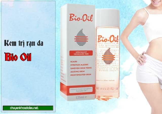 Kem Bio Oil điều trị rạn da sau sinh