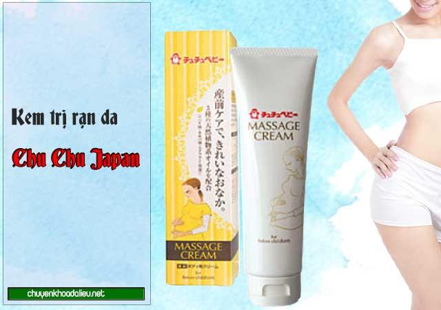 Kem Chu Chu Japan điều trị rạn da sau sinh của Nhật