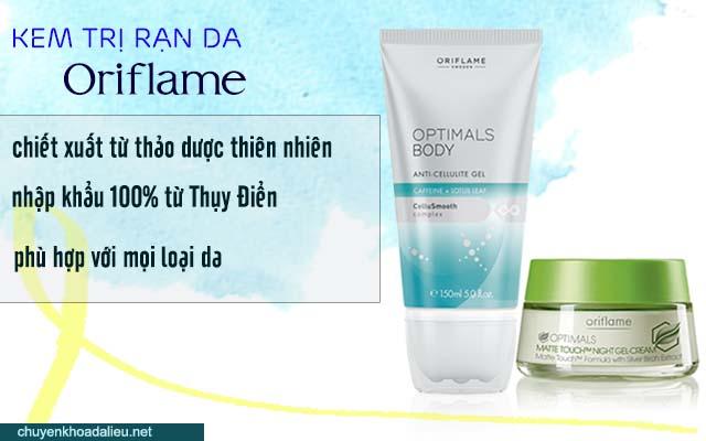 Kem trị rạn da Oriflame phù hợp cho mọi loại da