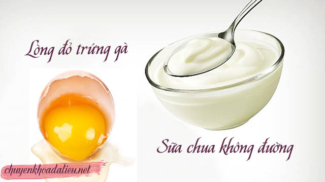 Mặt nạ trứng gà sữa chua trị rụng tóc ở tuổi 16