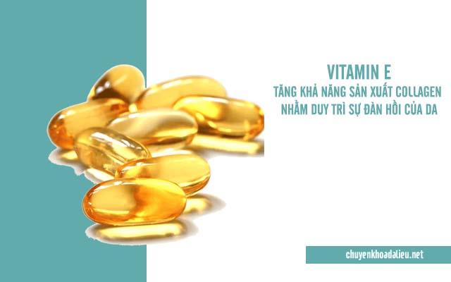 Cách trị rạn da lâu năm bằng vitamin E