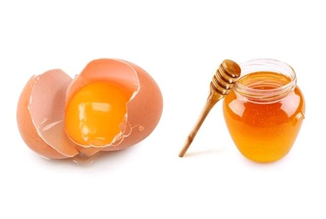 Công thức chăm sóc da từ mật ong trứng gà
