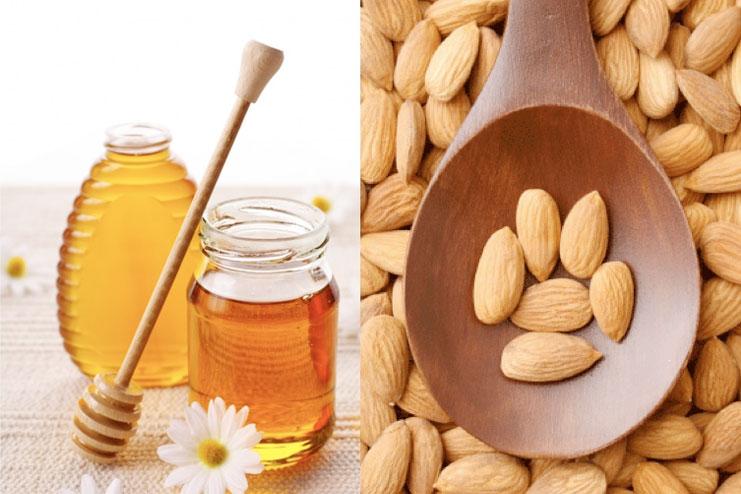 Công thức chăm sóc da từ mật ong và hạnh nhân