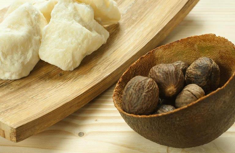 bơ hạt mỡ cải thiện chàm da