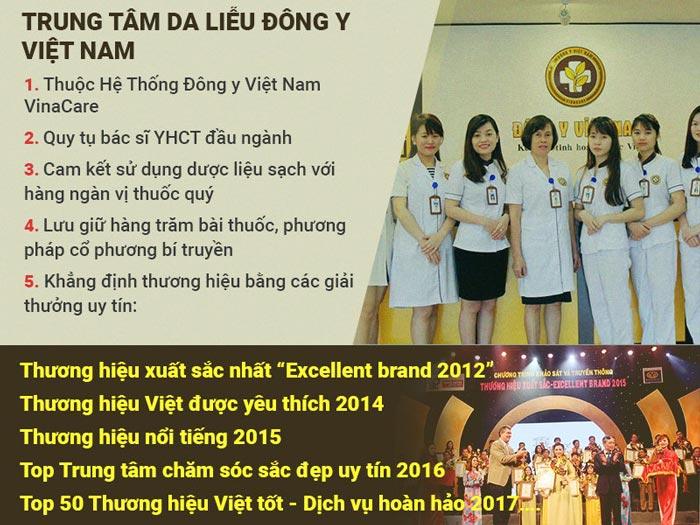 Điều trị tóc bạc sớm tại Trung tâm Da liễu Đông y Việt Nam