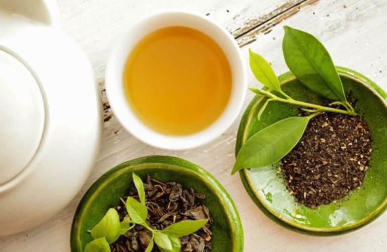 trà xanh có nhiều tác dụng với da