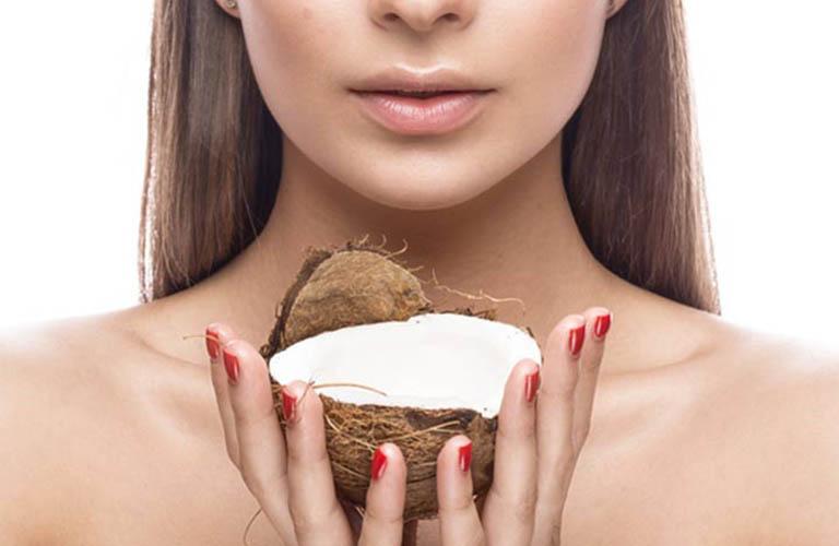 dùng dầu dừa để chăm sóc da