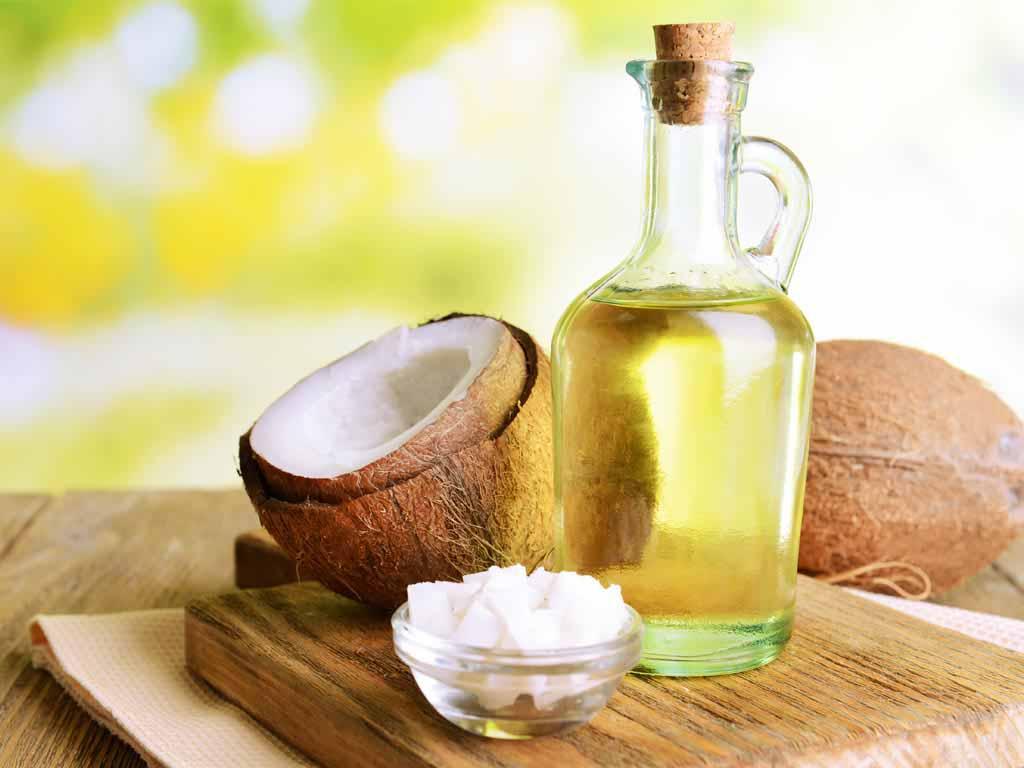 chữa viêm da dầu bằng dầu dừa