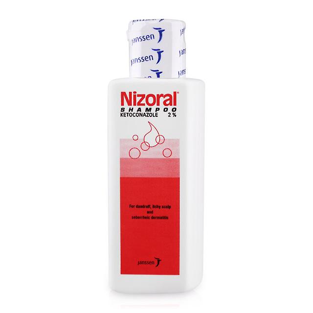 Dầu gội Nizoral Shampoo có tác dụng làm giảm triệu chứng viêm da tiết bã nhờn