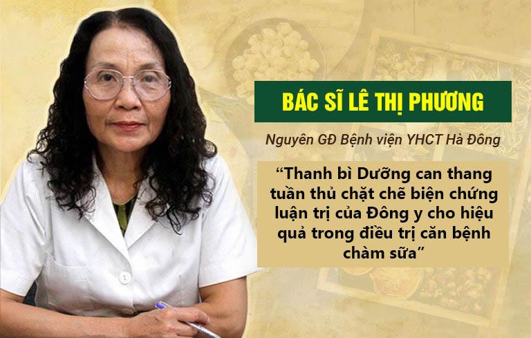 Nhận định của bác sĩ Lê Thị Phương