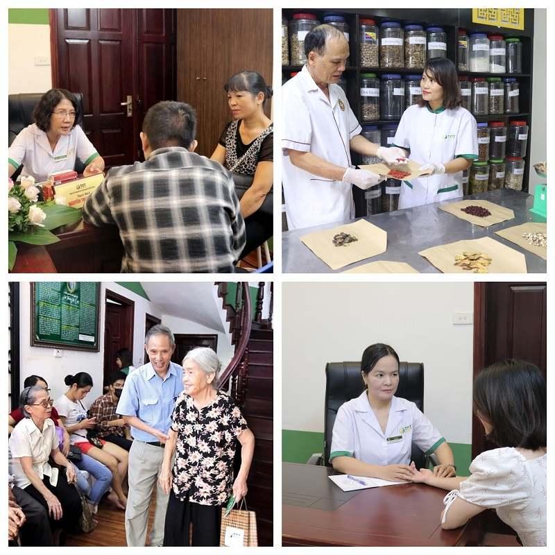 Công tác khám chữa bệnh tại Trung tâm Thuốc dân tộc