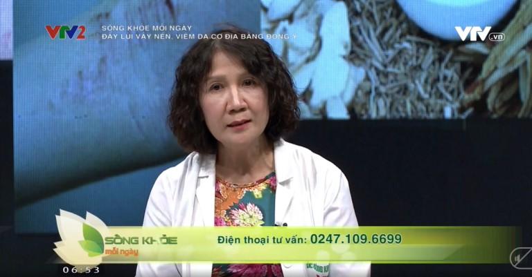 Bác sĩ Tuyết Lan tư vấn cách điều trị vảy nến, viêm da cơ địa hiệu quả nhất trên VTV2