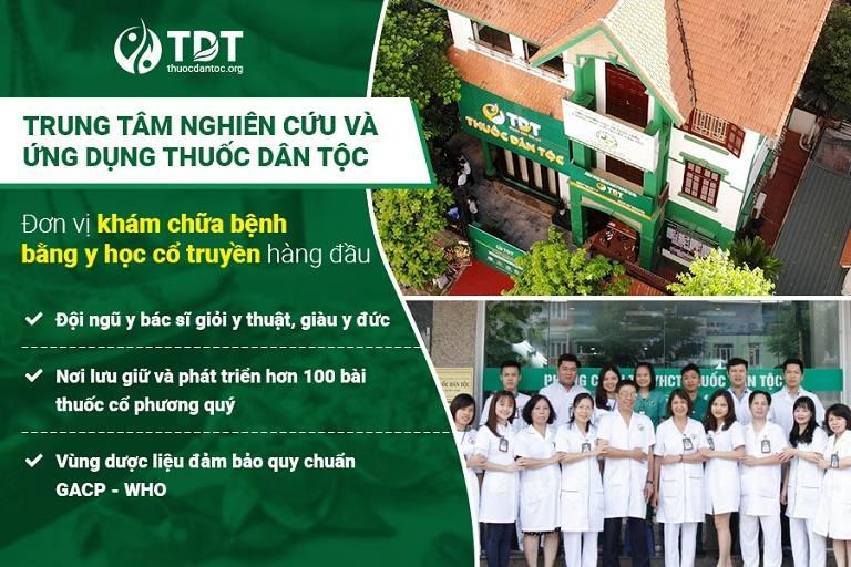 Trung tâm Thuốc dân tộc đơn vị YHCT uy tín