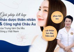 Giải pháp điều trị rụng tóc tại Trung tâm Da liễu Đông y Việt Nam được nhiều khách hàng lựa chọn nhờ sự an toàn và hiệu quả